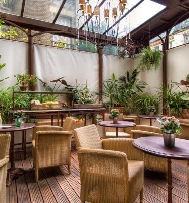 BEST WESTERN PREMIER Hôtel Trocadéro la Tour – Veranda