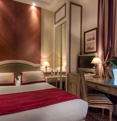 BEST WESTERN PREMIER Hôtel Trocadéro la Tour – Camera classica
