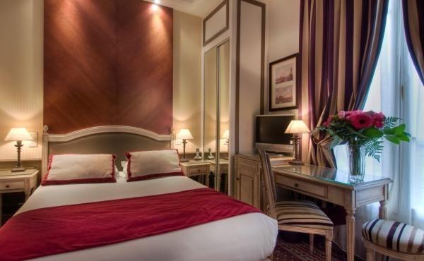 Hotel Trocadero La Tour Room In Paris